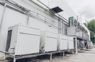 Commercial Chillers remove mineral scale biofilm