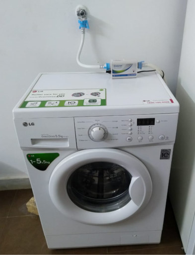 mineral desclaer washing machine example