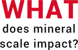 what does mineral scale impact